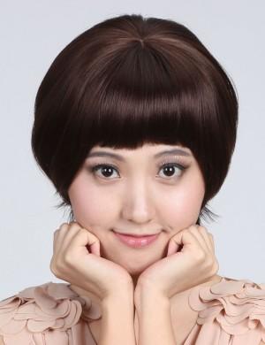 齐刘海头顶补发块无痕增发加厚 可爱甜美刘海片