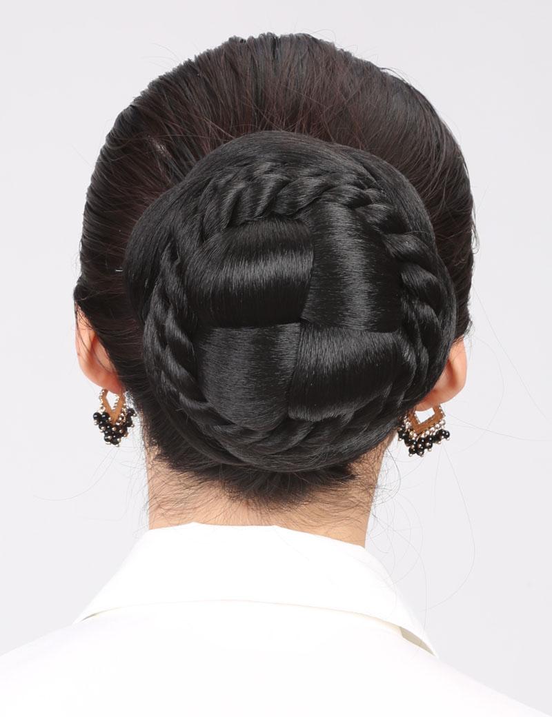 假发女发包盘发髻气质OL型新娘发包古装发髻