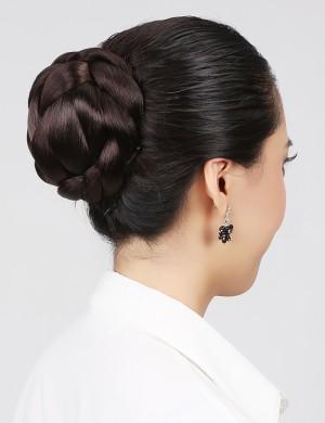 古装韩版发包盘发头饰新娘发髻造型时尚赫本花苞头