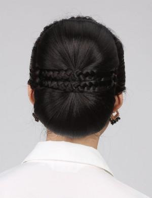 发包发髻古装韩版女生盘发头饰新娘造型大发包