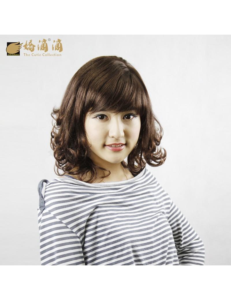 短卷发时尚女高温丝甜美可爱型超值发