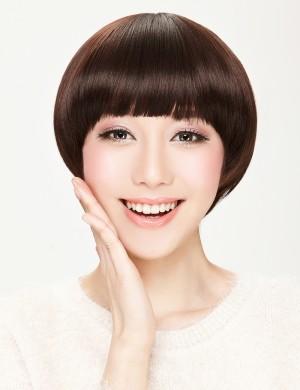 蘑菇头女生短发 超个性帅气波波头